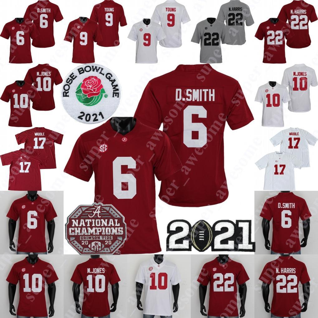 NCAA Alabama Crimson Tide Football Jersey 9 Bryce Young Tua THAGOVAILOA JERRY Jeudy Najee Harris Jaylen Waddle Mac Jones Devonta Smith