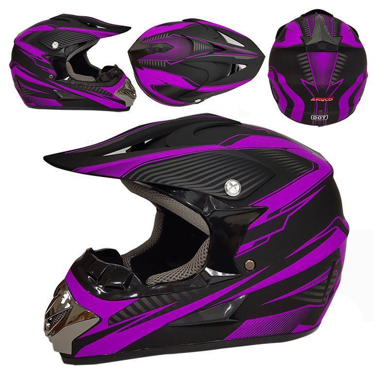 De una sola pieza casco de la motocicleta de bicicletas de montaña completa Casco Cross-Country Pequeño Esquí de Luz al por mayor