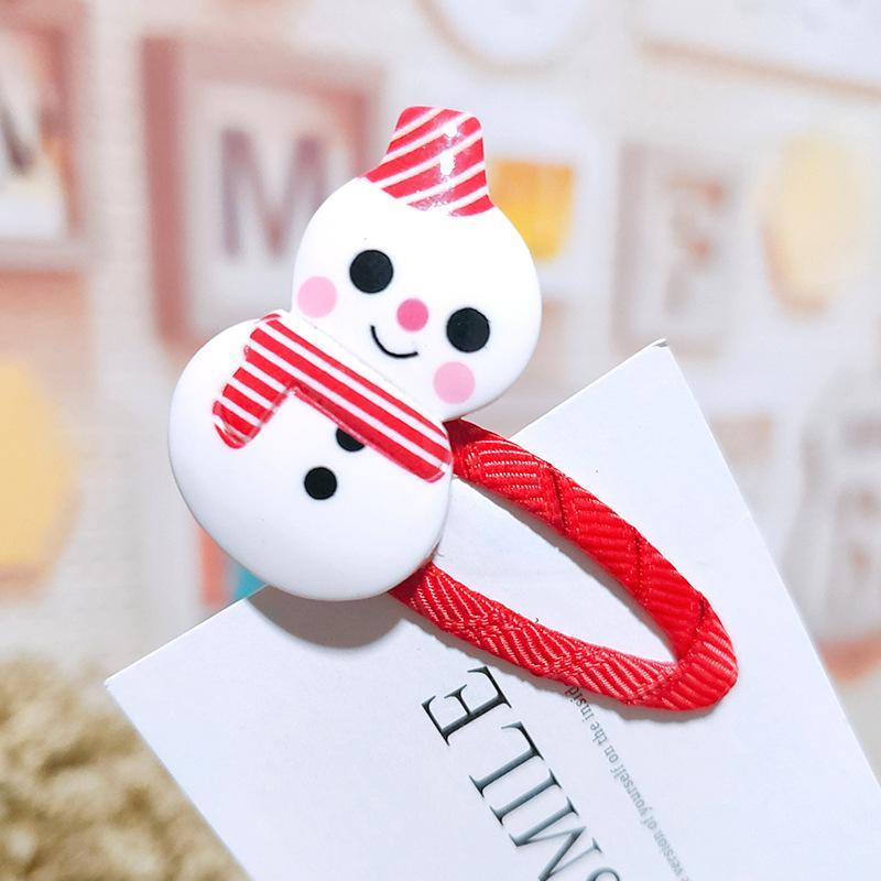 Christmas Hair Ornaments Cute Plush Elk Hair Clip Antlers BB Clip Hair Girl Bangs Broken Edge Top Clip DHL For Free