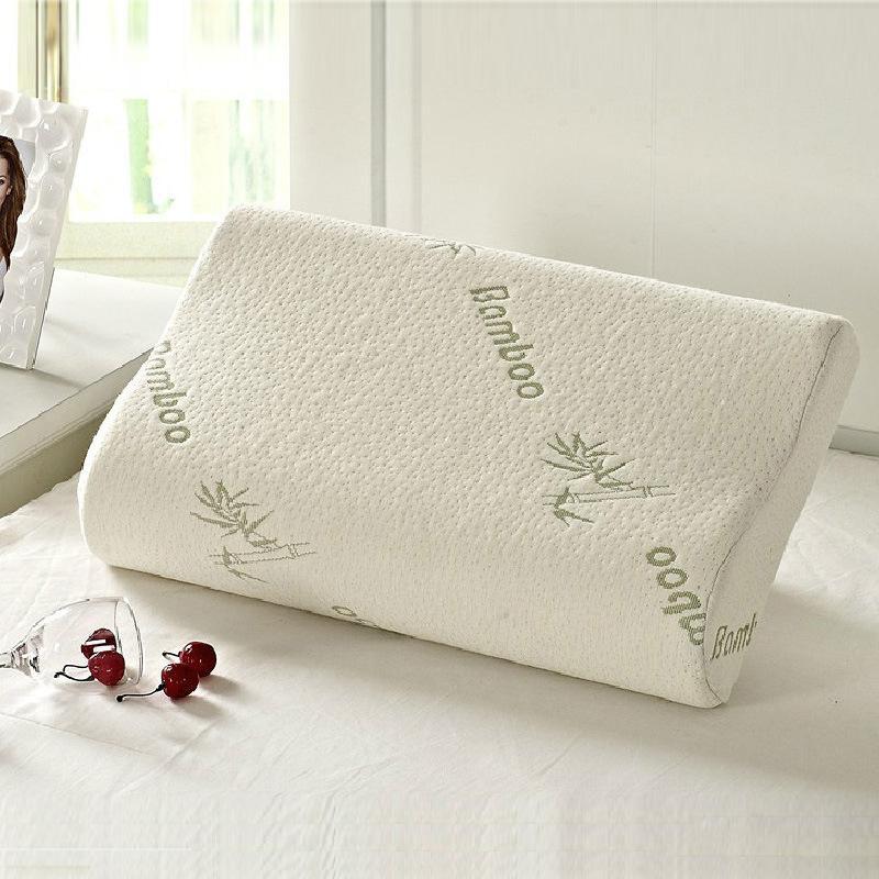 Sleeping Bamboo Memory Foam Foam Ortopedico cuscino cuscini Oreiller Cuscino Travesseiro Almohada Cervicale Kussens Poduszkap 201219