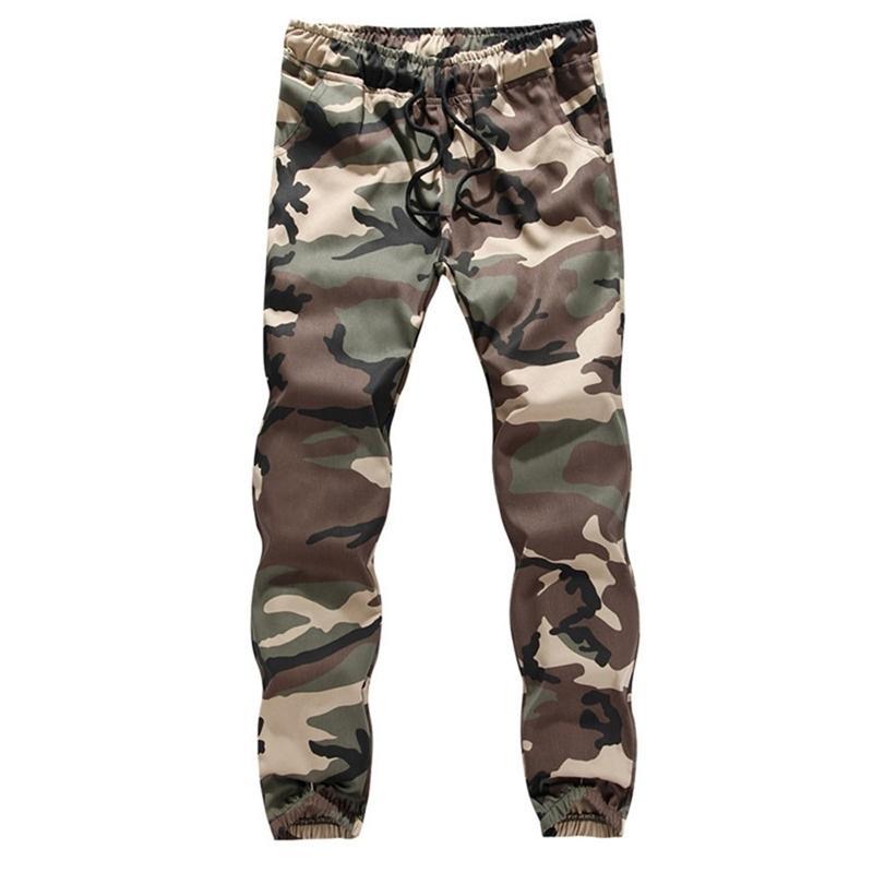 Camouflage Camo Cargo Pantalons occasionnels Casual Jogger Camo Sportwear Baggy Harem Pantalons Pantalons Pantalon Pantalon Pantalon Pantalon Y200114