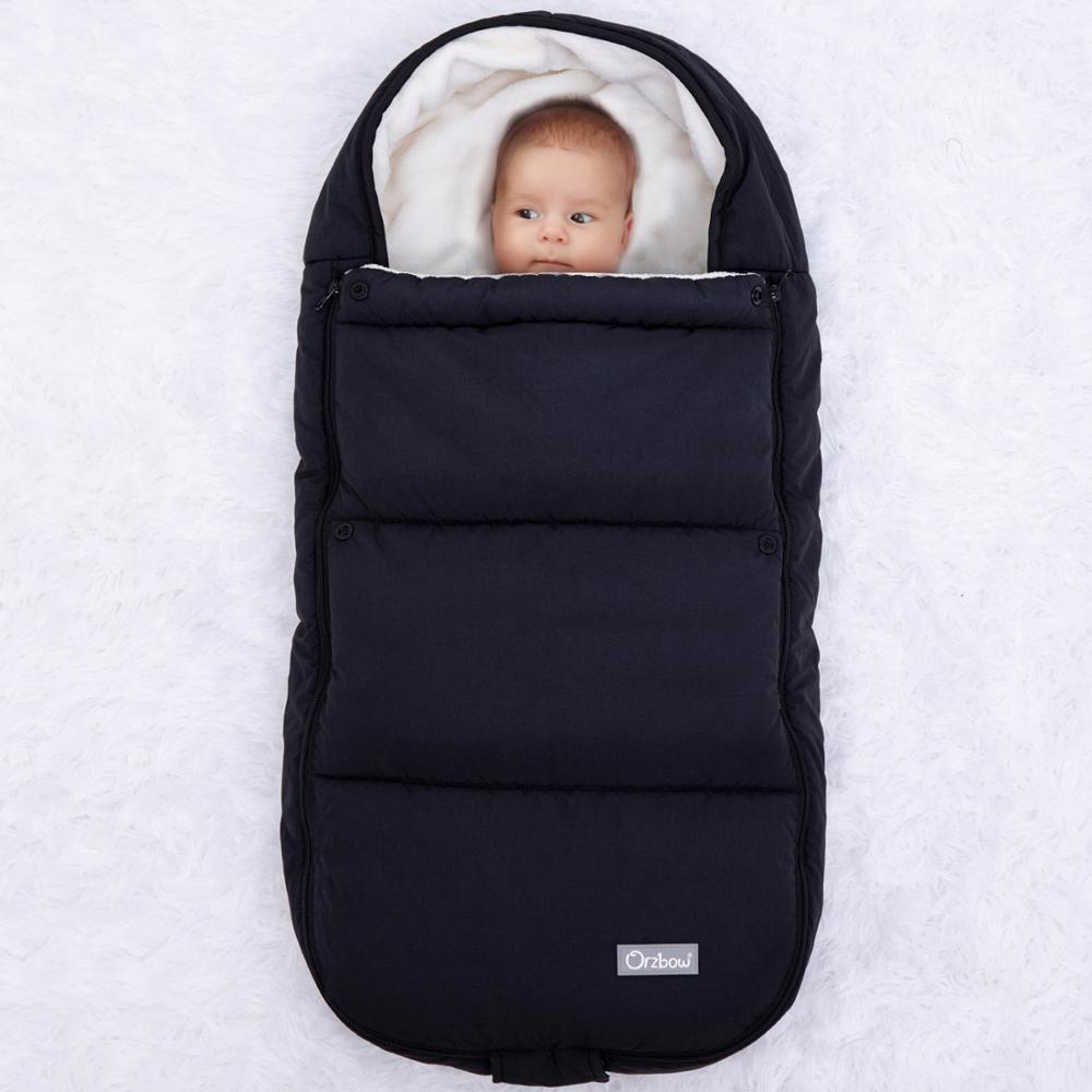 Orzbow Neufborn Envylope for Winter Baby poussette Sacs de couchage Sacs à fourrière pour bébés pour enfants Sacs pour enfants Kids Cocoon W1218
