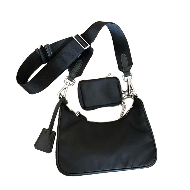 Сумка модные дизайнеры сумки HOBO BAG Unisex Материал Luxurys Холст Оптовая сумка Топ подмышечный вечер NVWXE