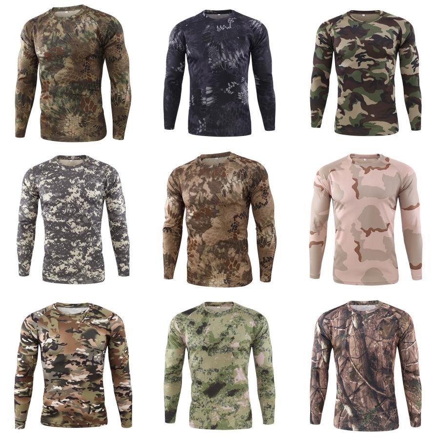 Les nouveaux hommes ronde Pull à col en tricot Top Casual T-shirts manches longues overs hommes Les vêtements supérieur Couleurs solides # 234