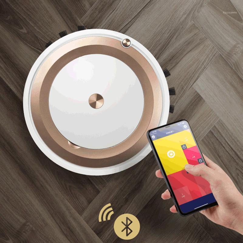 Limpiadores de aspiradoras Aplicación Control remoto Robot Cleaner Home Multifuncional Wireless Barrido adecuado para pisos de varios materiales1
