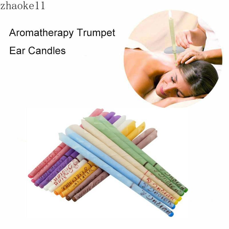 Soins de santé Oreilles bougie d'oreille Traitement cire Oreille Retrait Nettoyant Oreilles Coning traitement Indiana thérapie parfum Candling789