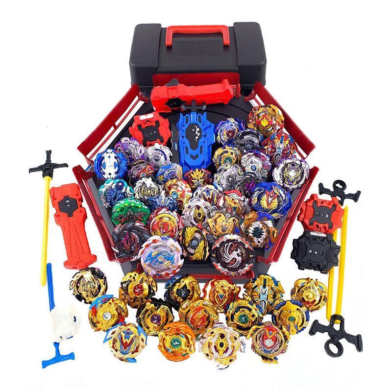 Todos os modelos Beyblade Burst Brinquedos com Starter e Arena Bayblade Metal Fusion deus Girando Top Bey Blade Blade Brinquedos Y200109