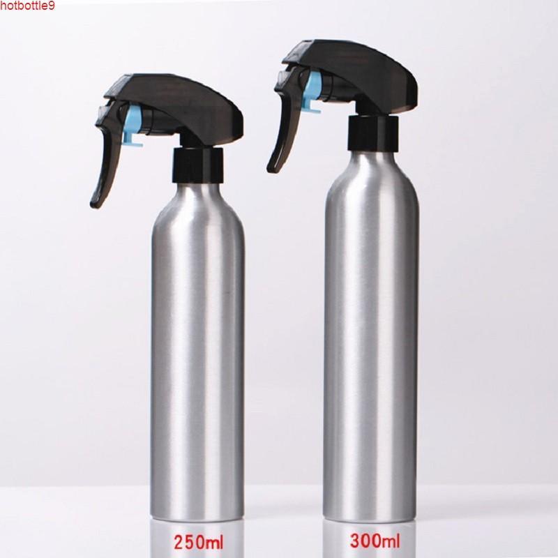 Bouteille de pulvérisation en aluminium de 30 ml de 50 ml d'emballage d'atomiseur de 60 ml d'échantillon portable 80 ml de récipients cosmétiques rechargeables rechargeables bouteilleHigh quattilité