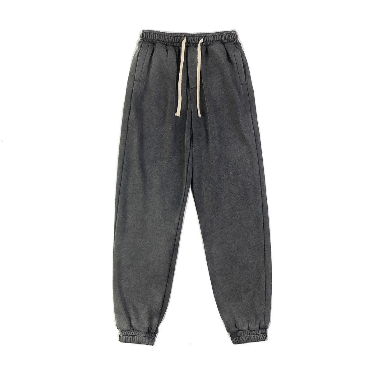Pantolon 2021 erkek Yeni Sezon Yalın Sheer Spor Harlan Pantolon Uzun Eğlence Gençlik Giysileri 2de2