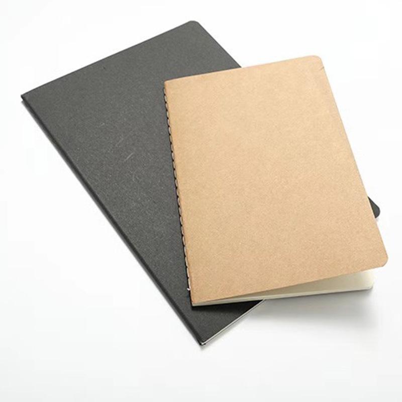 A5 كرافت ورقة خط كتاب فارغة رسمت باليد كتاب ريترو رسم كتاب كرافت ورقة الأجندة دفتر المدرسة اللوازم المدرسية اللوازم المكتبية
