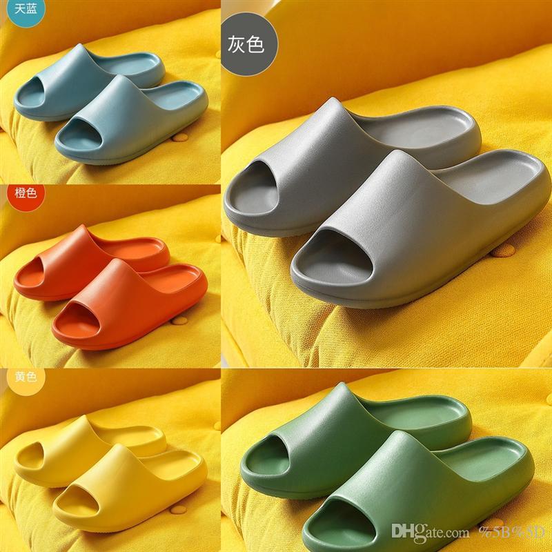 K7PS Ön Güz Logo Terlik Toz Moda Kesme Casl Motif Kauçuk Slayt Terlik Flats Sandalet