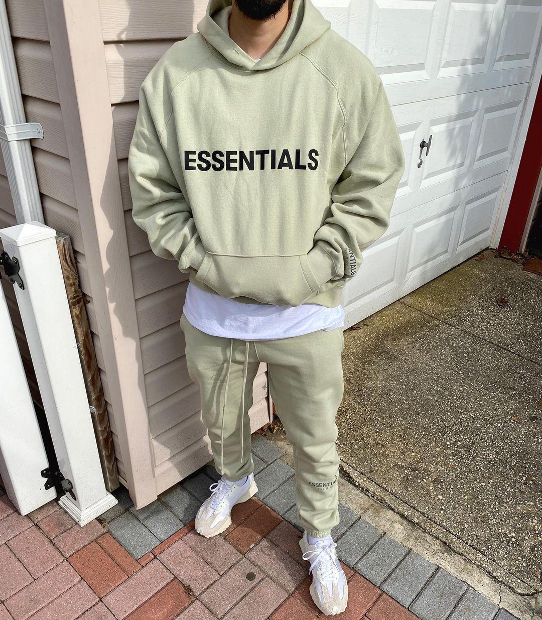 Бог Пуловер Туманный Туман Основы Страх о капюшонах 3D Кремниевый аппликация Передняя флисовая капюшона повседневная негабаритная толстовка хип-хоп уличная одежда