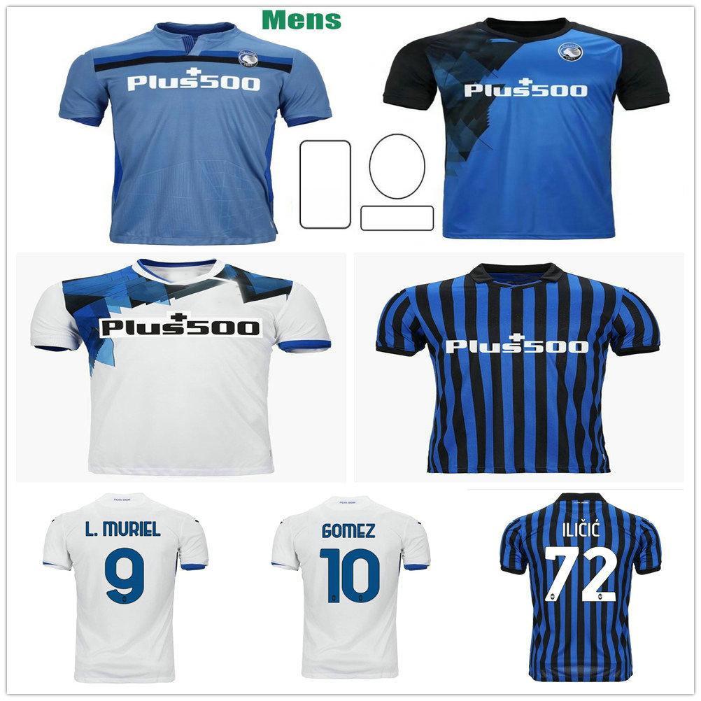 2020 2021 ATALANTA B.C. Soccer Jerseys L.Muriel Ilicic Gomez Feule Duvan de Room Personalizzato 20 21 Adulto Kids Home Away 3rd T-shirt da calcio