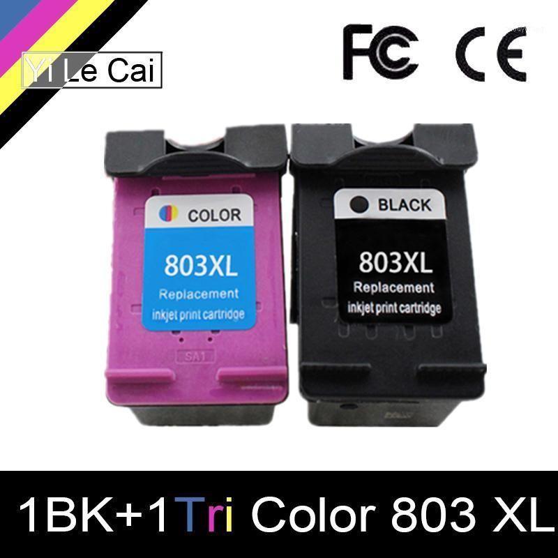 YLC 803XL Compatible ink cartridges For 803 XL For Deskjet 1112 2132 1111 2131 3632 3830 4652 printer1
