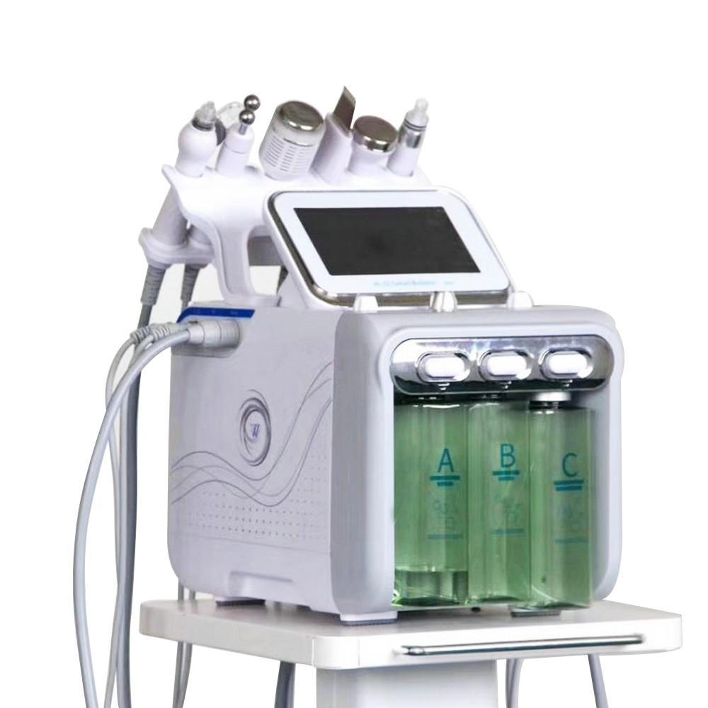 HOT جودة عالية الوجه تنظيف آلة الجمال هيدرا الترددات اللاسلكية هيدرا الأكسجين آلة حقن فقاعة صغيرة