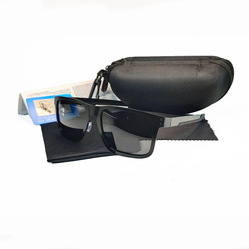 الأزياء الاستقطاب عدسة نظارات الرياضة النظارات الرجال النساء العلامة التجارية الشمس الزجاج uv 400 إطار معدني O4123 الغوص الصيد للجنسين