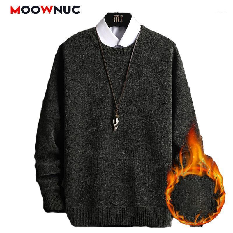 Nuevo suéter de moda para hombres Sólido Pullover Casual Hombre Hombre Cálido Alta Calidad 2020 Primavera Otoño Manga Larga Male Ajuste Masculino Jóvenes O-Neck1