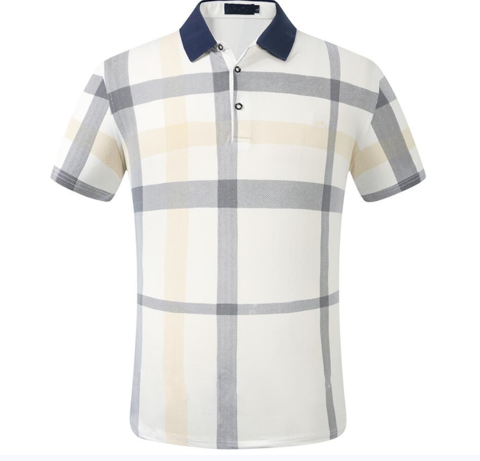 Mens casuali della maglietta di affari degli uomini di marca all'ingrosso a maniche lunghe a righe sottili Masculina sociali maschili T-shirt uomo nuovo di moda camicia a quadretti