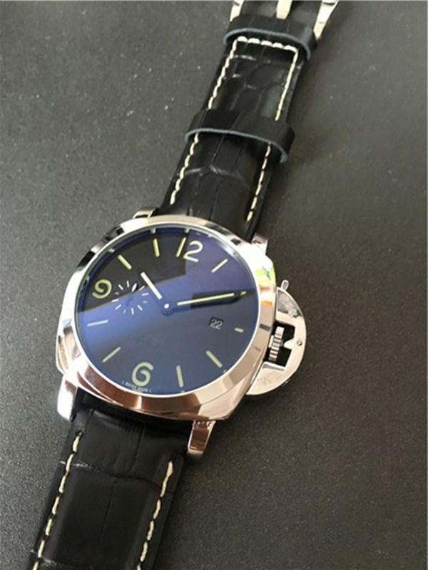 망 스테인레스 스틸 시계 남성 시계 자동 시계 기계 운동 망 손목 시계 002