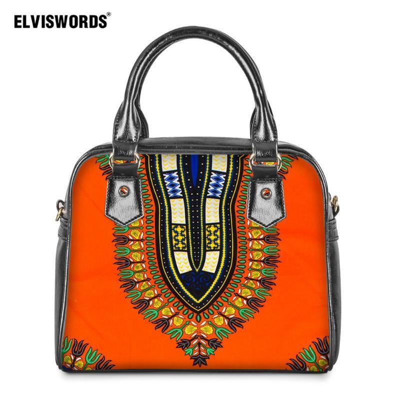 Omuz Vintage Kadın Seyahat Lüks kadın Çantası Tote Çanta Tasarımcısı Elviswords Afrika Crossbody Bayanlar için El Çanta Çanta JKWBV