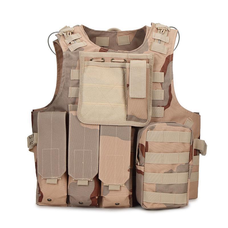 Охотничьи куртки тактические жилеты Боевые доспехи Жилеты мужские армии Регулируемые на открытом воздухе CS