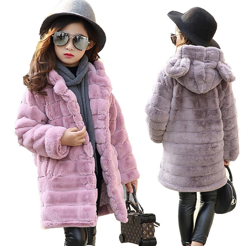 New Jaquetas para meninas Outono Inverno Crianças Casacos Meninas casaco cardigan roupa dos miúdos Casual Jacket Longo menina Coats 120-160CM 0930