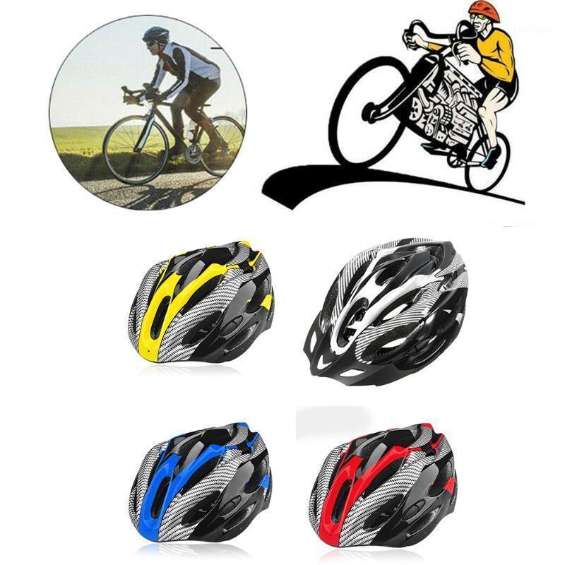 Hombres adultos casco bicicleta bicicleta portátil transpirable ajustable para ciclismo al aire libre ALS881