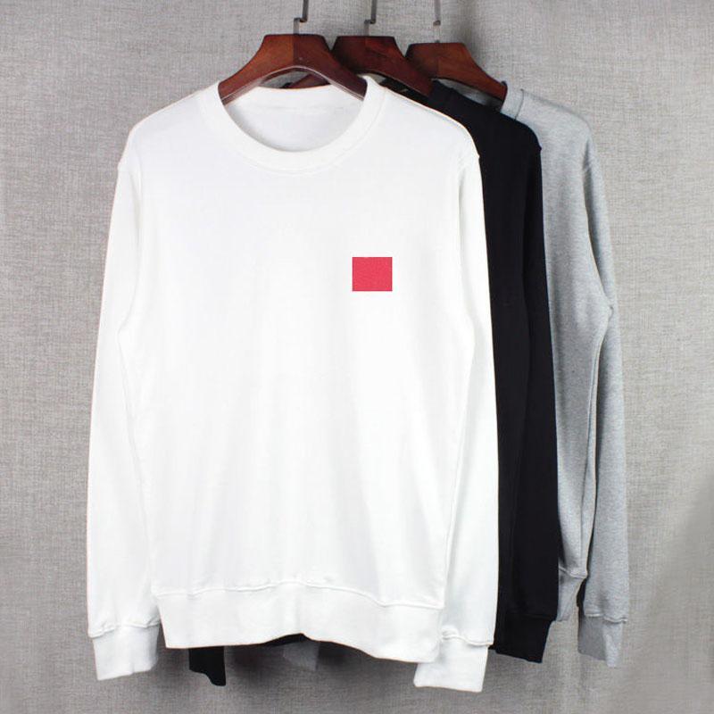 20FW толстовки для мужчин осенью мужская толстовка толстовки свободно стиль модный прилив зимний пальто пуловер homme одежда с сердцем вышивка s-3xl
