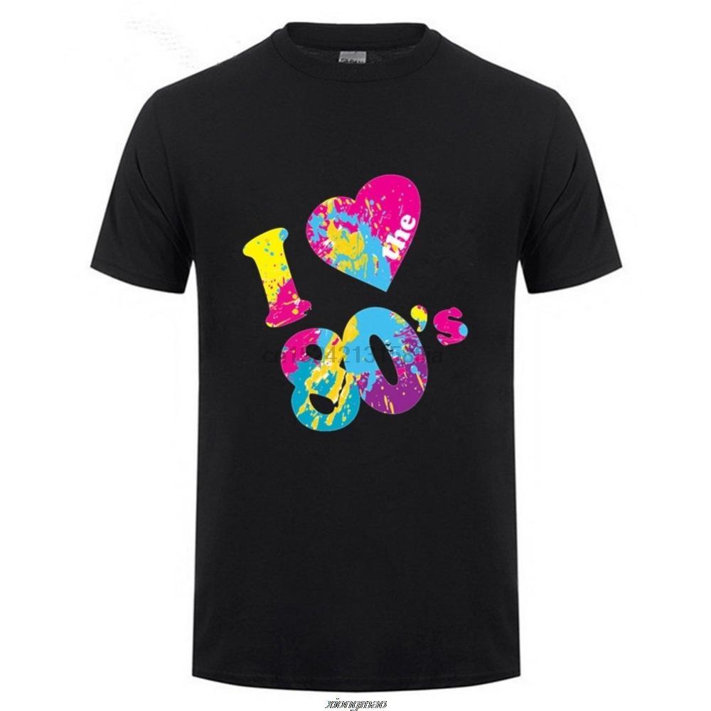 Nouvelle arrivée Marque-Vêtements Mode I Love The 80 T-shirt Un sport Créer shirt à capuche Sweat à capuche