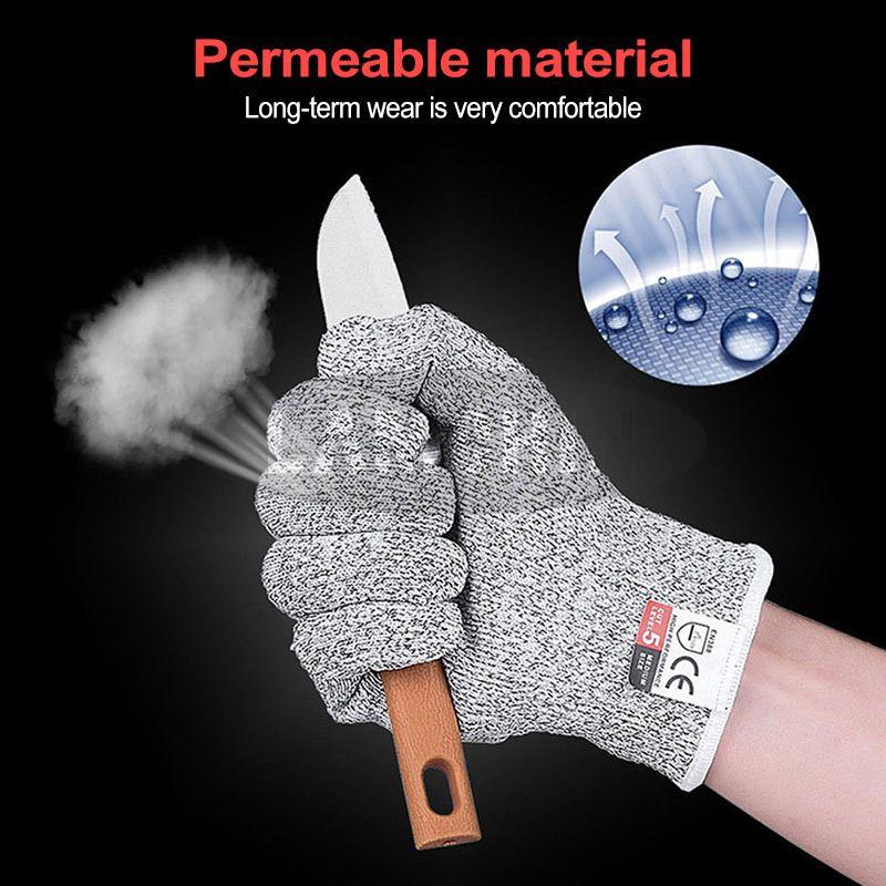 Защищенные нержавеющие анти-патроны устойчивые кременные стальные проволоки металлические сетки кухонные мясники вырезанные перчатки