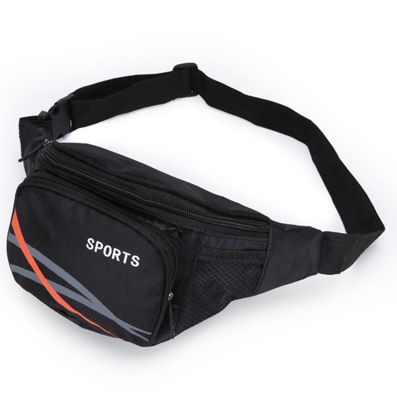 Straps Single Bag Travel Adjustable Capacity Shoulder Casual Outdoor Zipper Sport Camping Cycling Portable Waist Big Purse Bcwpt