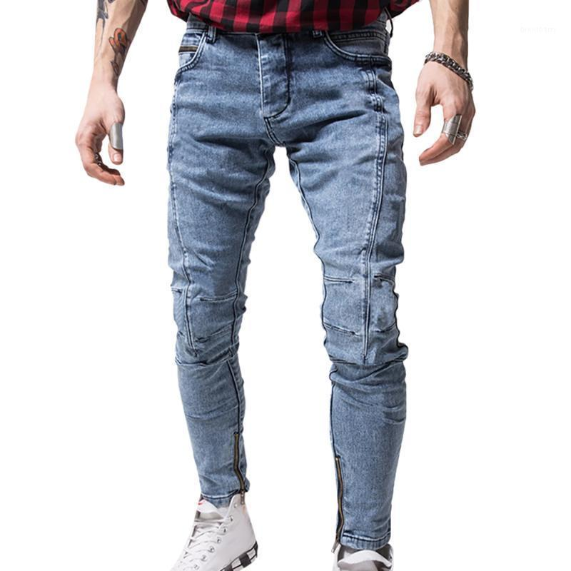 Hombres Jeans Casual Lápiz Pantalones Hombres Ropa Jeans Jogger Moda Denim Pantalones Ropa Hombre Hombre Pegado Casual Denim1