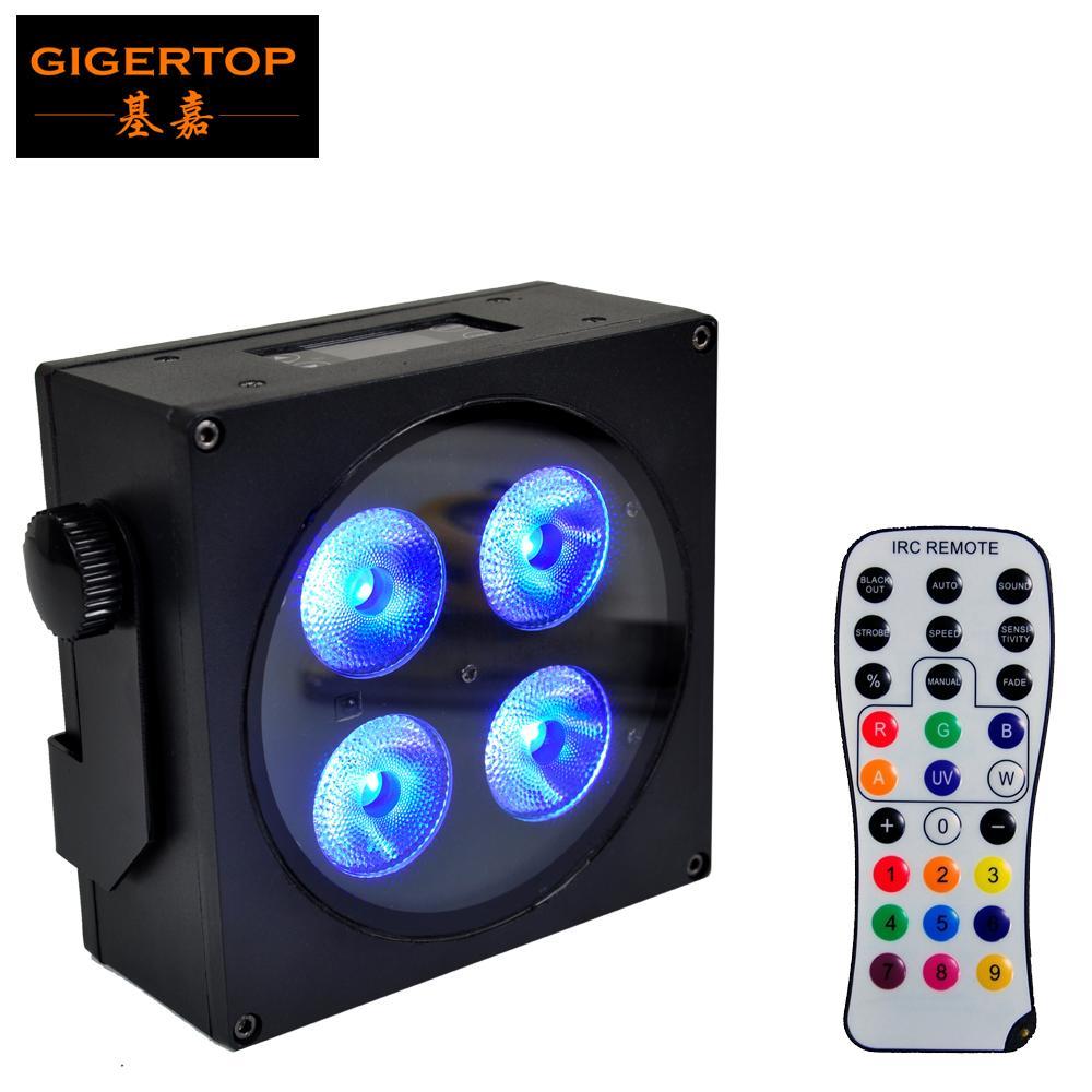 4 LED Par Light 18W RGBWAP Кристалл Magic Ball Шарик DMX Свет этапа диско-клуб Party Light Mini DJ Garden Park Christmas Lamp