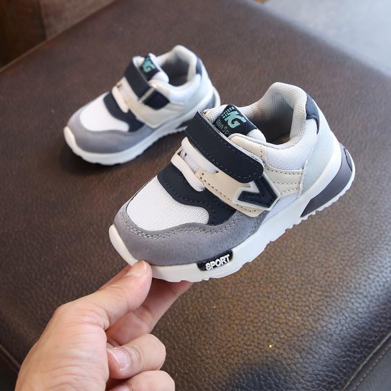 Bobora primavera otoño niños zapatos bebé niños niñas zapatillas de deporte casuales para niños transpirable suave antideslizante corriendo zapatos deportivos