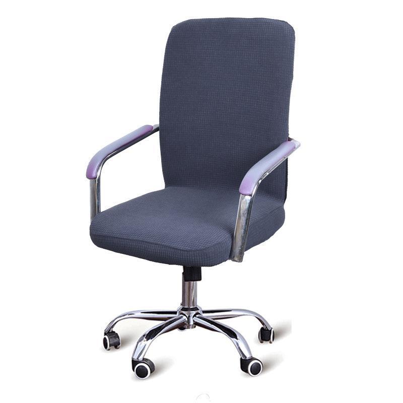 Спандекс эластичный офисный подъемник компьютерный стул крышка съемный подлокотник крышка сиденья против грязного босса вращающееся стригальное кресло крышки сиденья