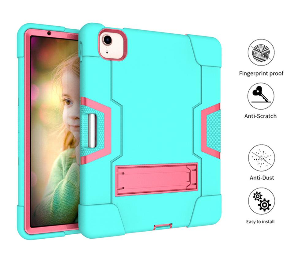 for ipad 8 ipad 10.9 air 4 10.2 2019 2020 T500 T870 SAMSUNG Tab S6 S7 A7 Military Extreme Heavy Duty shockproof defender silicon case Cover