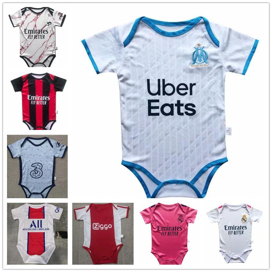 2020 Marseille Ajax Baby Jersey 2020 Real Madrid 2 Star ...