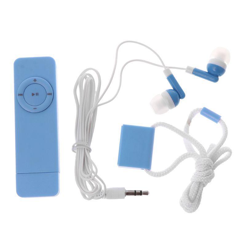 MP3 leitor de música digital SD USB MMC carregamento portátil Sports fone Anti-Loss Lanyard 746D