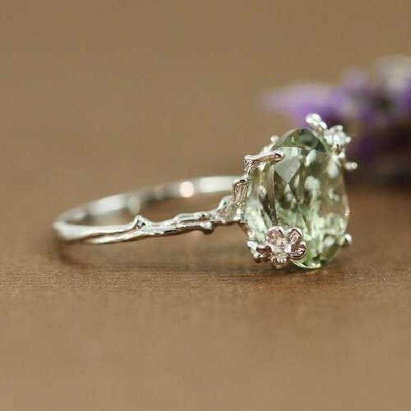 925 Sterling Silver ретро кольцо Женщина ювелирных изделий бабочка серебро Обручальное кольцо Заполненных женщины Engagement