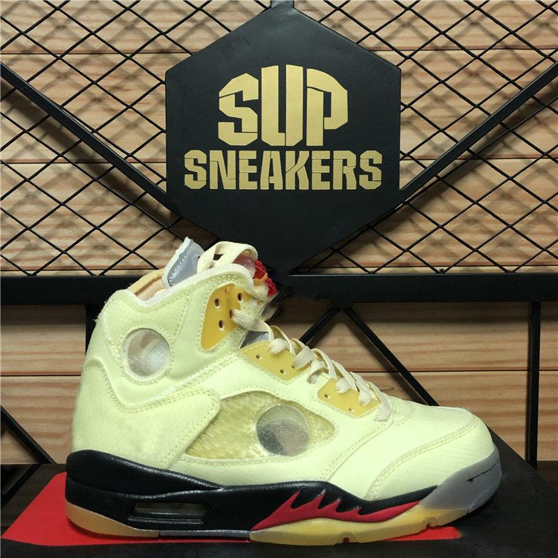 Top Qualität Travis White Sails Jumpman 5 5s Top 3 Feuer Rot Oregon Basketballschuhe Michigan Öl Grau Laufen Turnschuhe Männer Sporttrainer