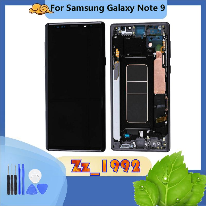 """6.4"""" Brand new For Samsung Galaxy Note 9 N960 N960F Lcd Display Touch Screen Digitizer Assembly 100% tested with frame"""