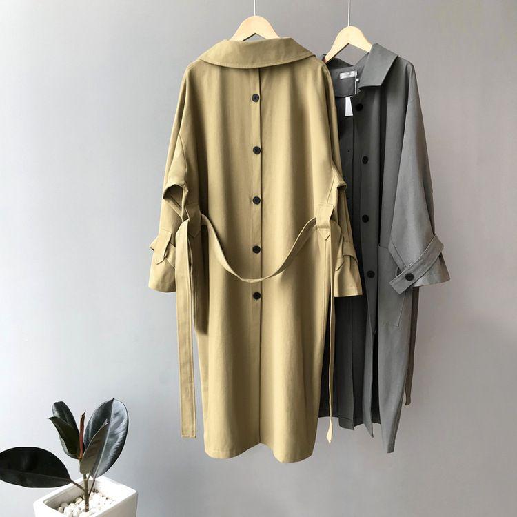 2020 Новая весна Женщины моды пальто женщин Мода Длинные пальто весна Trench Outwear # 1658