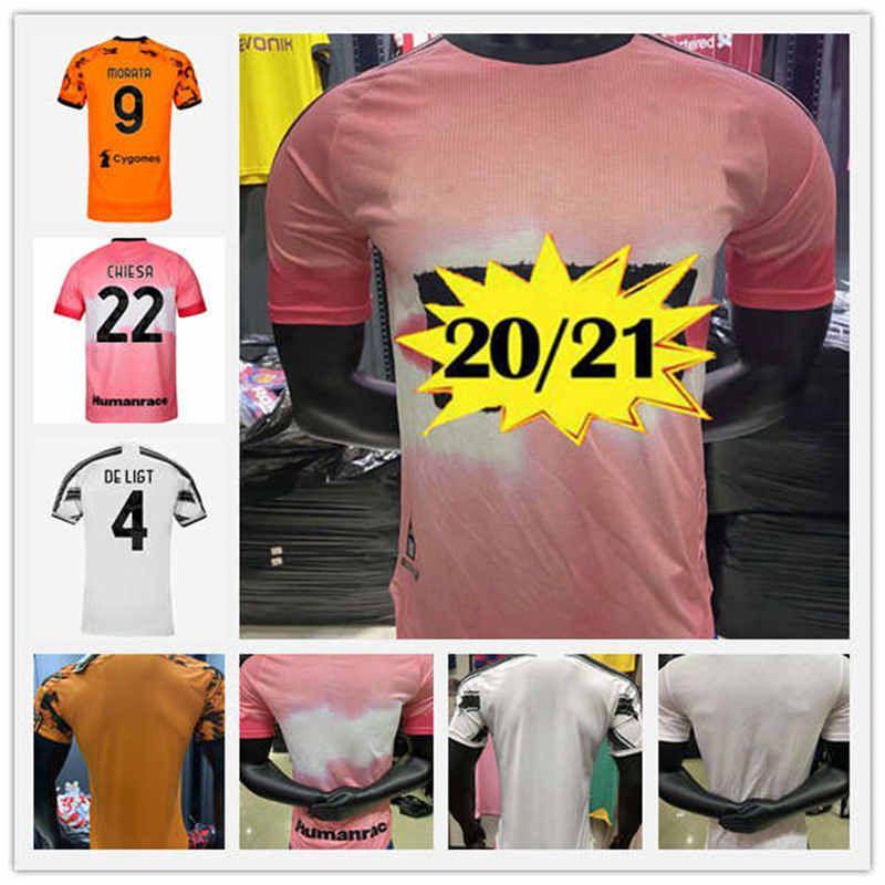 2020 2021 Neue Spieler-Version C.Ronaldo Fußball-Trikots Dybala d.costa Fußball-Trikots 20 21 Thailand-Palast Bernardeschi de ligt Fußballkleid