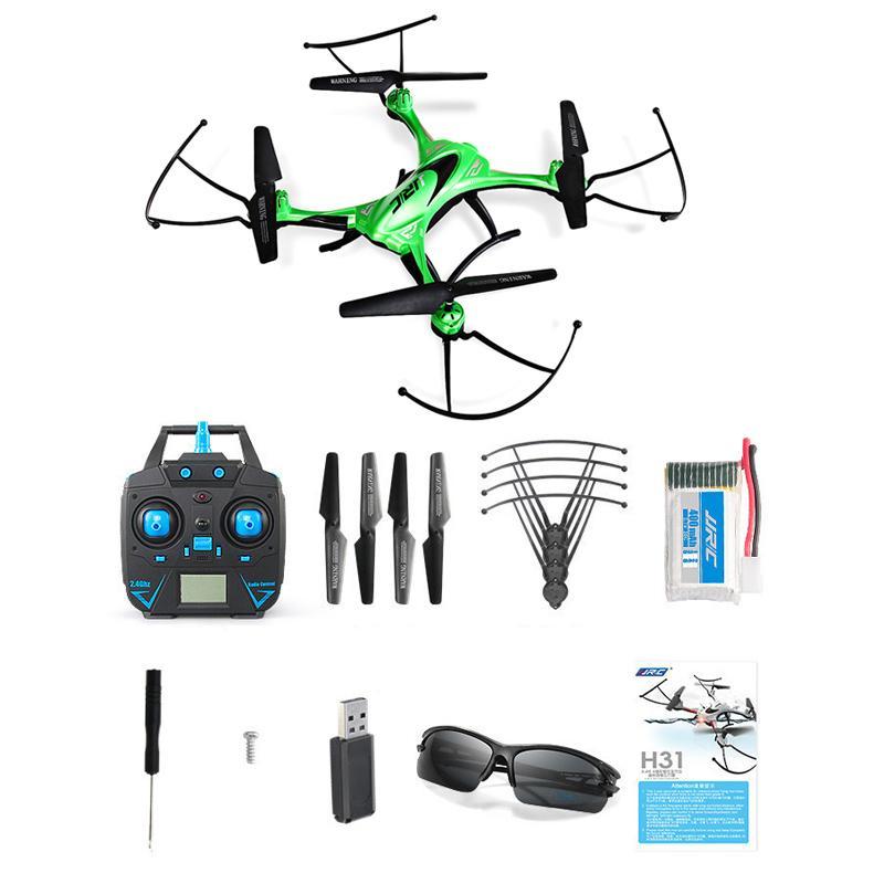 JJRC H31 Drontrone RC Hélicoptère Quadrocopteur imperméable Une touche Touche Retour 2.4G Télécommande sans fil 6Axis Quadcopter RC drone 201015