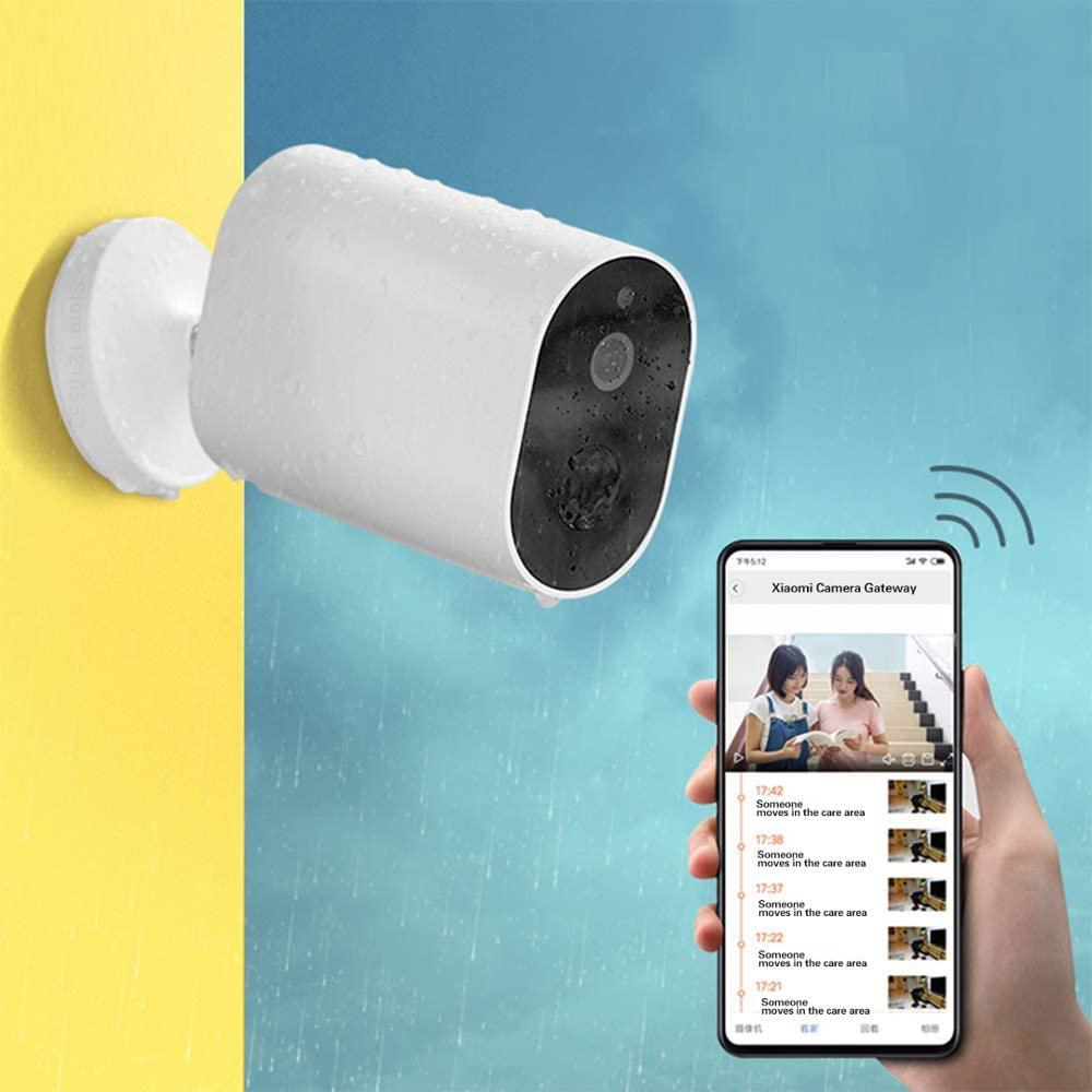 Global Version IM ILAB EC2 Camera Wireless With Battery Remote Voice Intercom Outdoor IP66 Waterproof Alarm Connectable Home