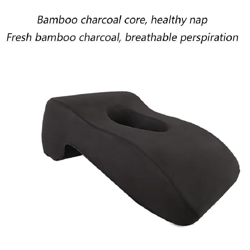 Подушка NAP Artifact бархатная ткань бамбуковая древесный уголь Память пена, получая дизайн удобный офисный поездов Стол обед перерыв