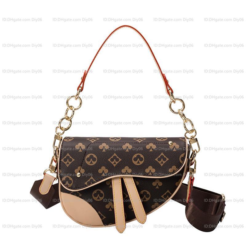 2021 Mulheres Luxurys Designers Crossbody Bags Bolsas De Couro Mulheres Bolsas Saco de Ombro Sacos Shopping Tote Pruso Tassel Bolsa de alta qualidade