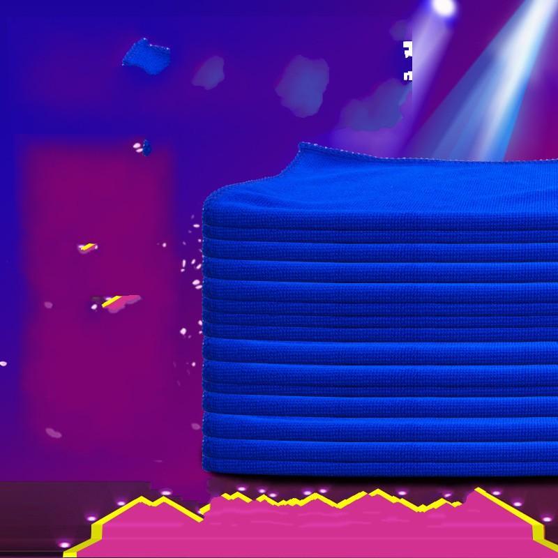 30 * 70cm Tuch Automobil-Auto-Wäsche-Tuch Reinigung Waschlappen Blau Hemming Superfine Faser-Poliertücher Schleifen 0 62jy K2