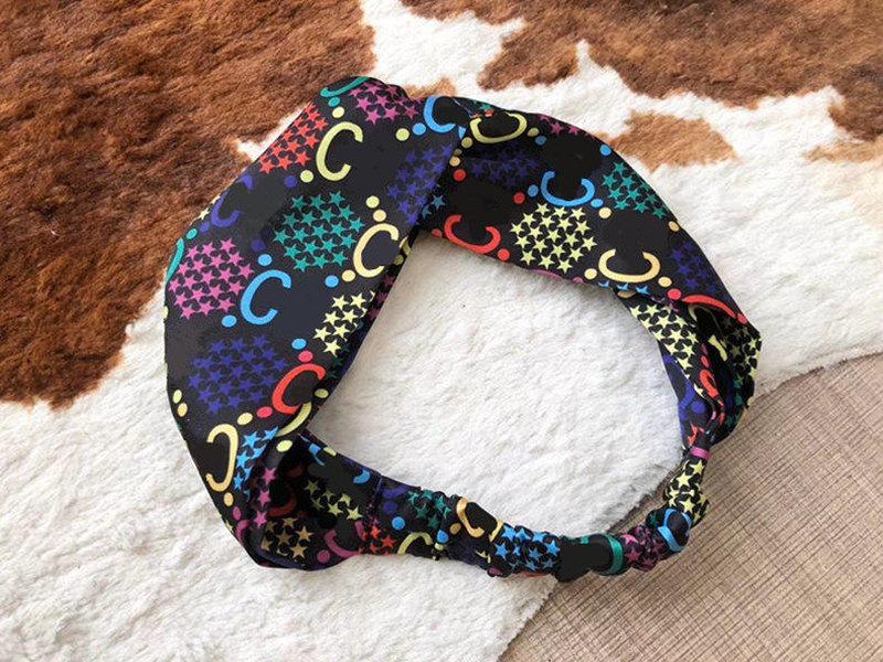 Heißer Verkauf Seide Turban Elastische Stirnband für Frauen Mode Haarband Für Frauen Mädchen Retro Kopfwicklern Kopf Schal Geschenk