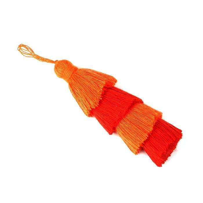 1 pc 4 camadas projeto de algodão tassel pingente de seda borla para casa decoração casamento diy costura acessórios de cortina h bbyhly